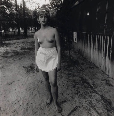 waitress nudist camp nj by diane arbus