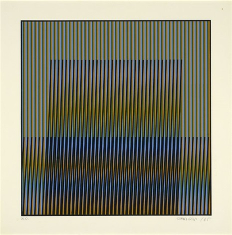 composition cinétique by carlos cruz diez