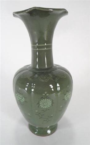 Tall Green Vase By Shin Sang Ho On Artnet