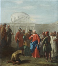 christ healing the sick by jacopo amigoni