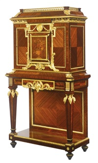 side cabinet (after andré-charles boulle) by françois linke