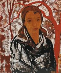 portrait de jeune femme by alix aymé