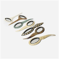hand mirrors (set of 7) by ria and youri augousti