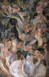 le bal des fleurs by elena agafonova