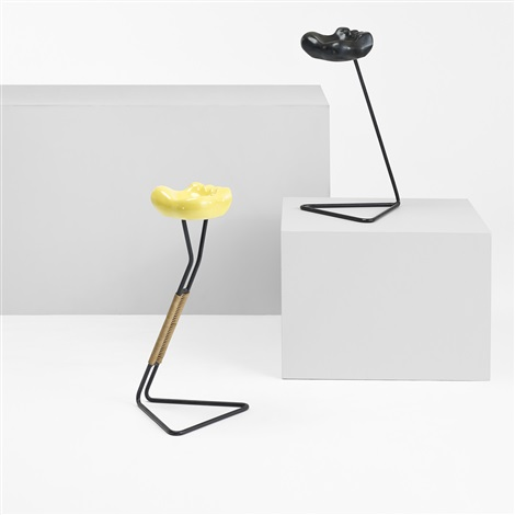 ash stand by mathieu matégot and georges jouve