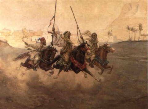 arab warriors by albert rosati