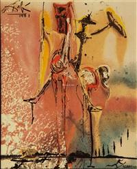 陶版画 (67/490,仅一套18张) (set of 18) by salvador dalí