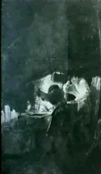 scene de forge by leonard de france