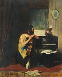 music practice by endre komaromi-kacz