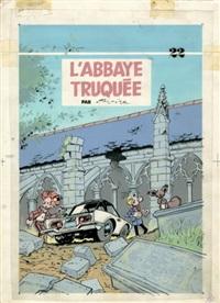spirou et fantasio - l'abbaye truquée by jean-claude fournier