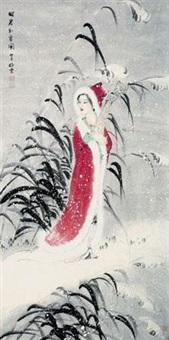 昭君出塞图 by liu jingyun
