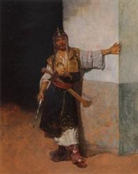 a bashi bazouk by francisco peralta del campo