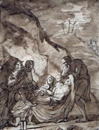 la déposition du christ by francois-xavier fabre