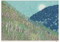 moonrise by shinkichi (kaii) higashiyama