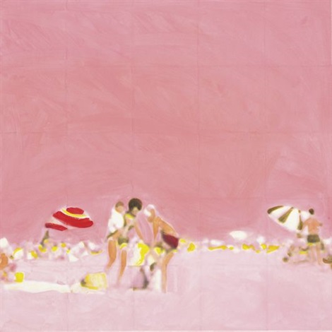 pink beach by isca greenfield sanders