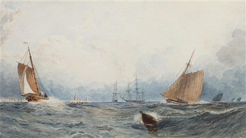 shipping off a coastal town by joseph murray ince
