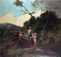 el columpio by francisco-javier amerigo y aparici