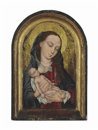 the virgin nursing the christ child by roger van der weyden