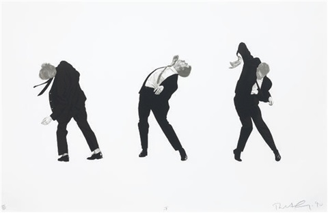 untitled i from men in the cities by robert longo