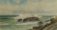 rocky shore by george howell gay
