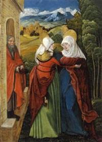die heimsuchung mariae by wolf huber
