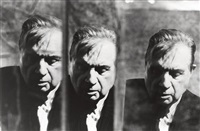 francis bacon dans mon miroir #3 by michel ginies
