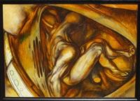 l'ange (auto-portrait) by pavel tchelitchew