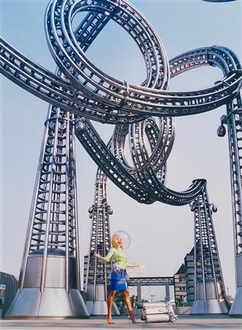rachel wants a ride, tokyo by david lachapelle