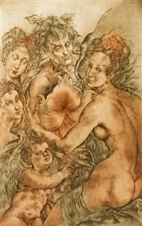 omaggio al pittori rudolfini by oldrich kulhánek