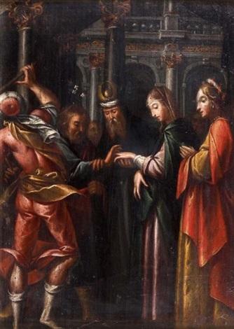 le mariage de la vierge by jacopo da empoli chimenti