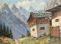 a summer chalet by rudolf weber