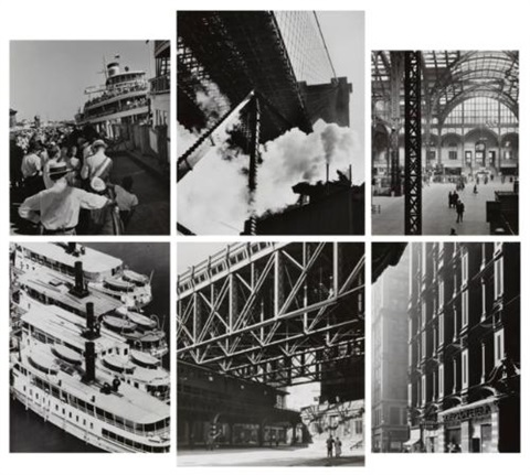group 6 works by andreas feininger