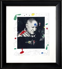 hommage à picasso by joan miró