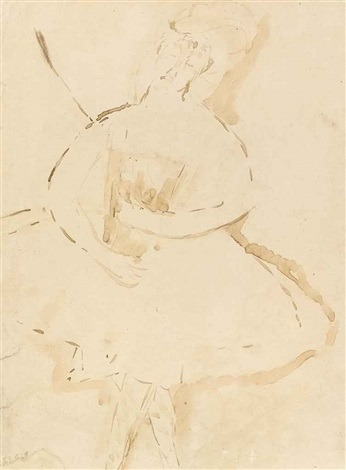danseuse by amedeo modigliani