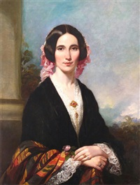 portrait of a lady by british school (19)