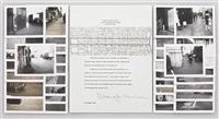 site sculpture project, cross manhattan rectangle, new york city (35 works) by douglas huebler