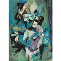 quartette by william gropper