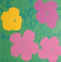 flowers 7, sunday b. morning by andy warhol