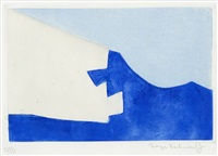 composition in blue by serge poliakoff