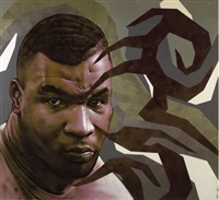mike tyson (diptych) by alex