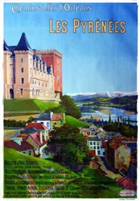 les pyrénnées - château de pau by frederic hugo d' alesi