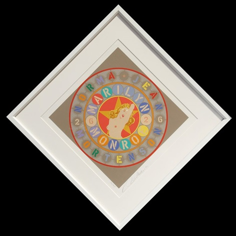 marilyn from the american dream portfolio by robert indiana