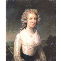 portrait of dorothy turner (née gallimore) by lemuel francis abbott