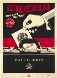 shoplifters welcome by shepard fairey and jamie reid