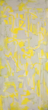 yellow painting by ad reinhardt