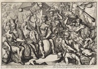 het koene zeeland (+ session of the house of commons and the house of lords with king william, 1689, lrgr; 2 works) by romeyn de hooghe