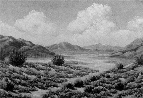 spring in the desert by charles westly nicholson