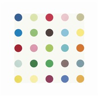 2-(p-chlorophenoxy)-2-methylpropionic acid by damien hirst
