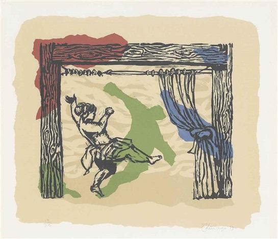 proscenium shadow dancing by william kentridge