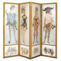 les quatre saisons: a four-fold screen by janine janet